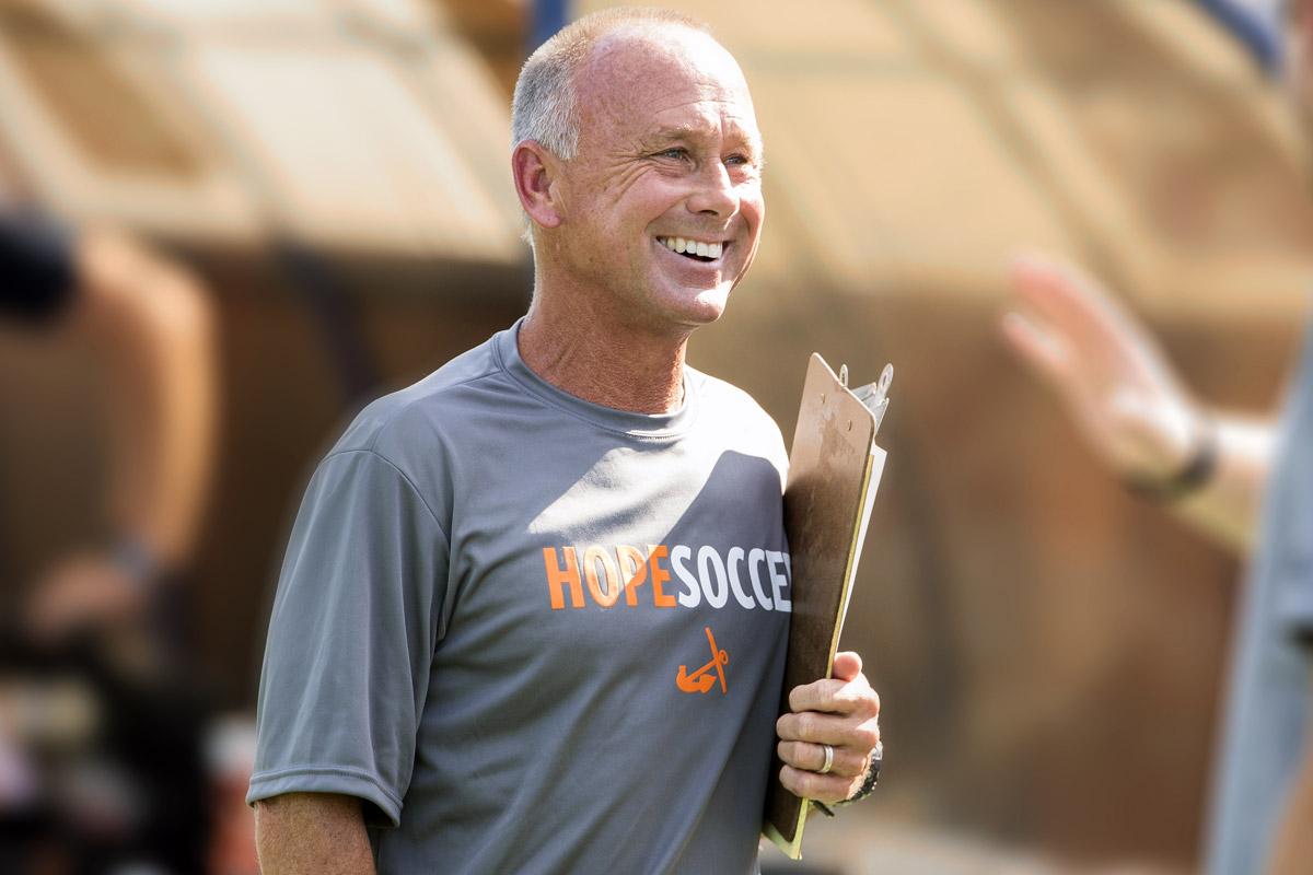 Dave Brandt - Hope College Men's Soccer Head Coach