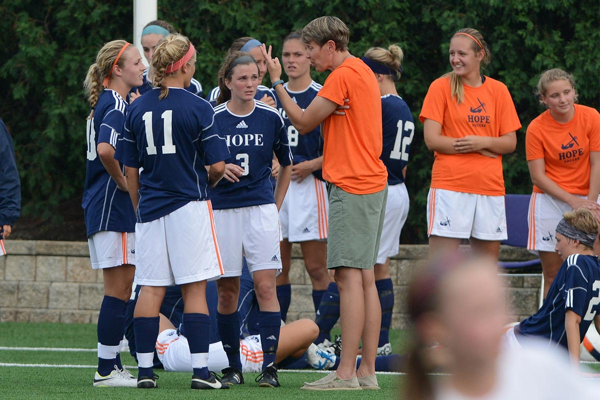 Dr Leigh Sears - Hope College Women's Soccer Coach