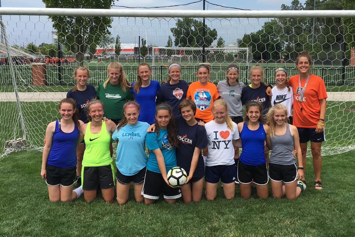 Hope College Girls Residential Soccer Camp