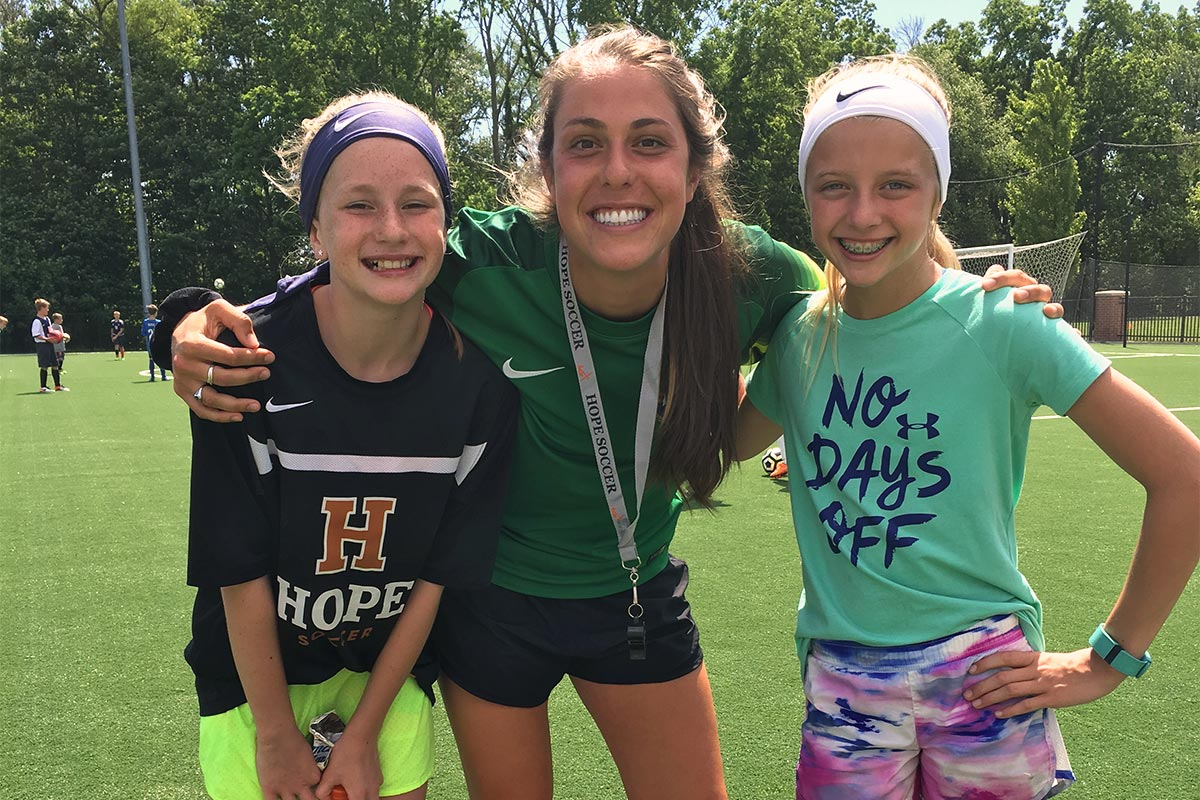 Hope Soccer Camps - Girls Residential Camp