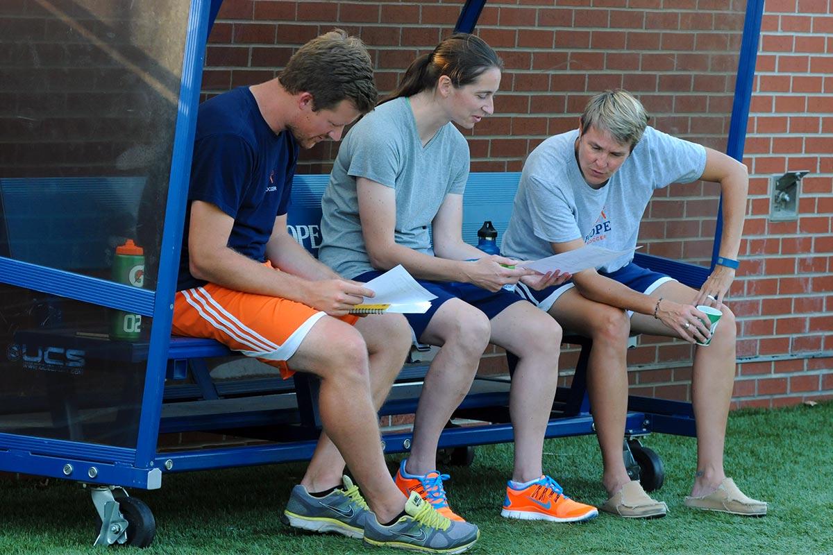 Women's Hope Soccer Camps Coaching Staff
